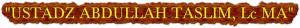 ABDULLAH TASLIM