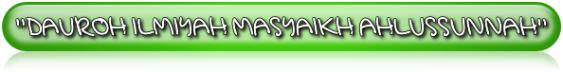 DAUROH MASYAIKH